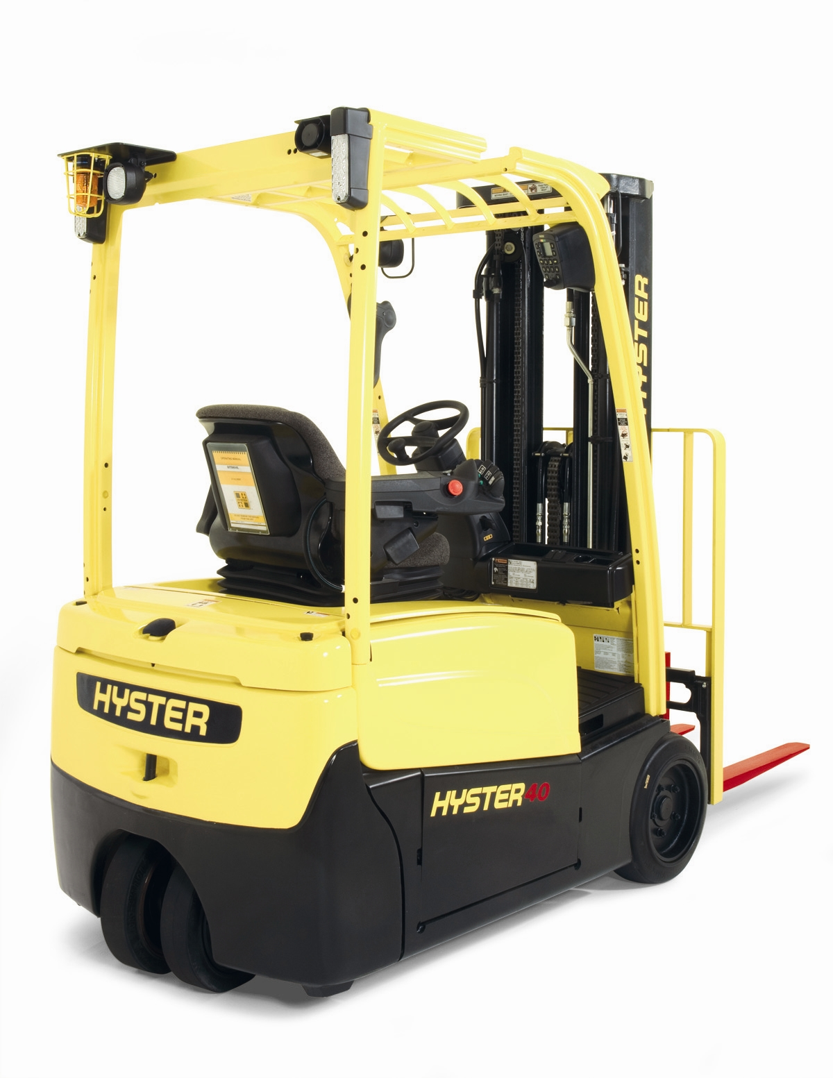 Sit Down Fork Lift Controls : Hyster launches new sit down electric lift truck series