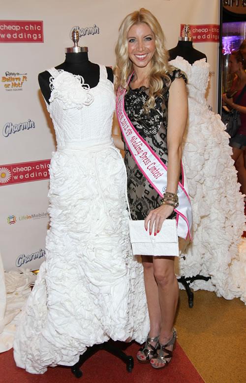 Toilet Paper Wedding Dress Contest Winner Named