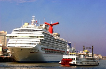 New Orleans Carnival Cruise Lines Port Agree To ThreeYear - New orleans cruise ship terminal