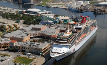 how to get from tampa cruise port to airport