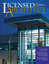 Licensed Architect   Spring 2018