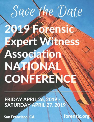 2018 FORENSIC WITNESS ASSOCIATIONANNUAL CONFERENCE