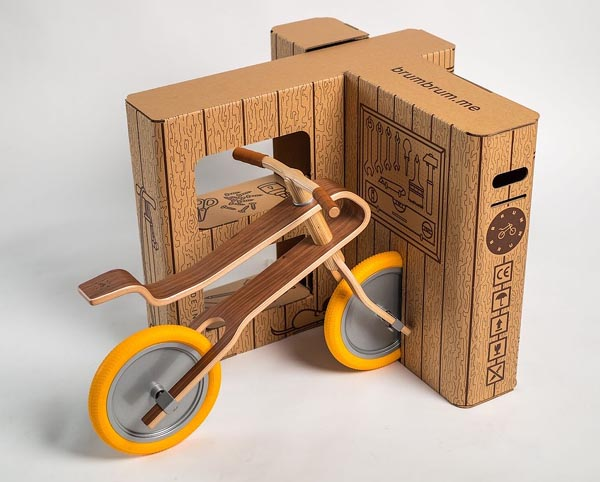 Stora Enso Collaborates On New Interactive Wooden Bike Packaging