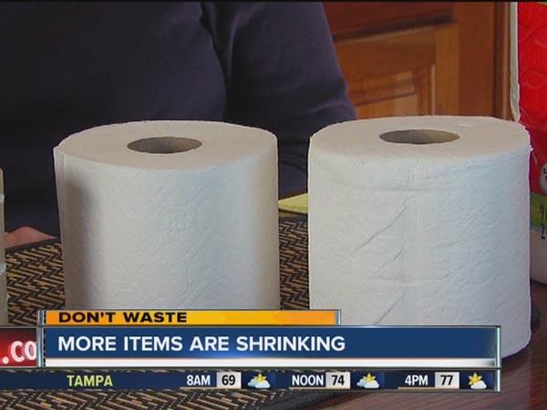 Toilet Paper Roll Size In U S