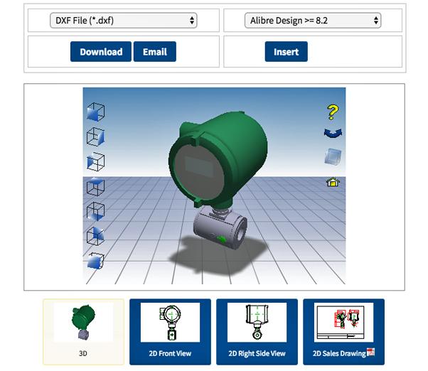 Yokogawa Provides Enhanced Online Product Selection Experience