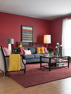 cranberry living room colour takes the gold when it comes to home decor 11082