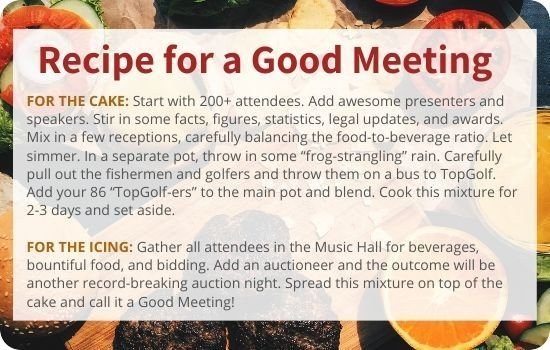 Recipe for a Good Meeting